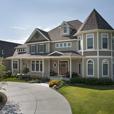 Traditional Exterior by Homes by Tradition