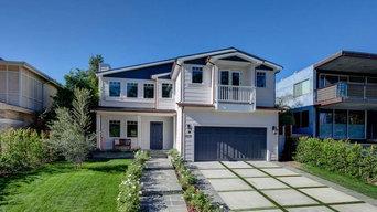 Custom Built Transitional Home