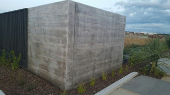 Custom Concrete at The Landing Wigram Skies