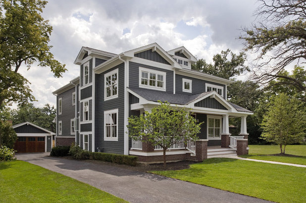American Traditional Exterior by Great Rooms Designers & Builders