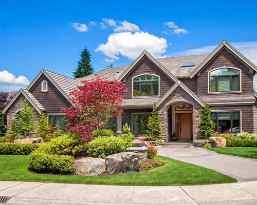 Front Yard Driveway Side Landscape After Home Design Ideas ... on Front Side Yard Ideas id=53631