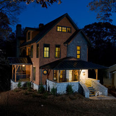 Traditional Exterior by Falcon Design Build