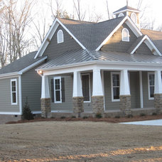Traditional Exterior by Frazier Designs
