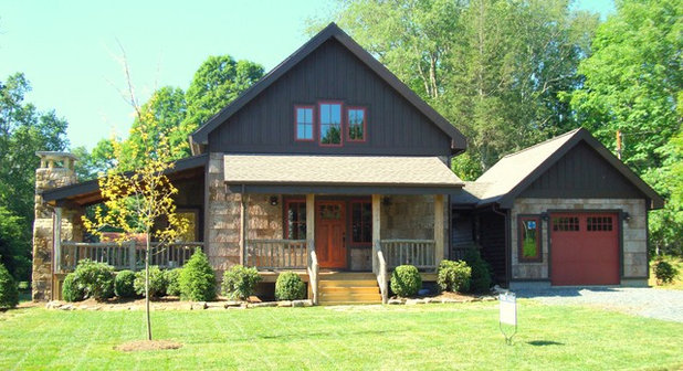Rustic Exterior by Abby Design and Construction