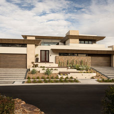 Contemporary Exterior by Blue Heron Design-Build