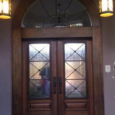 Eclectic Exterior by US Door & More Inc