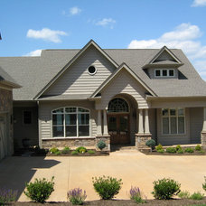 Traditional Exterior by Sentinel Builders