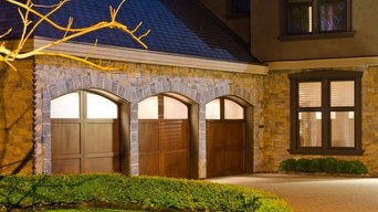 Custom Garage Triple Doors
