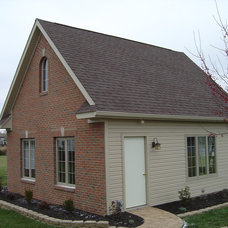 Traditional Exterior by Wesson Builders