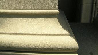 Custom Hand Carved Sillk Road Sandstone Column