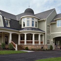 Farmhouse Porte Cochere Specialty Exterior Design Ideas