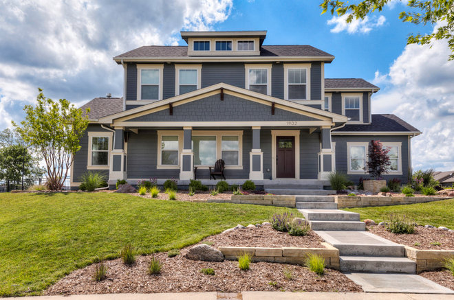 Craftsman Exterior by Bower Designs