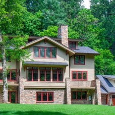 Craftsman Exterior by R.A.Hoffman Architects, Inc.