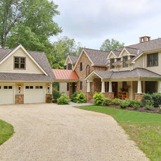 Traditional Exterior by R.A.Hoffman Architects, Inc.