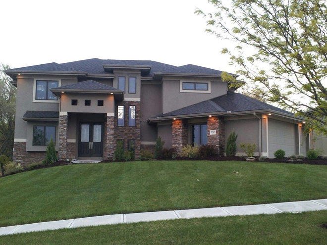 Contemporary Exterior by Advanced House Plans