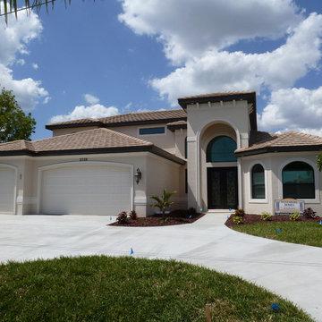 Custom Home Build, Cape Coral, Florida