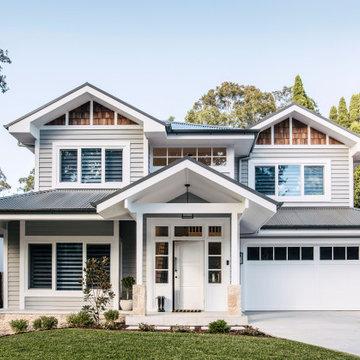 Custom Home Build - Hamptons Style