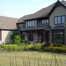 Traditional Exterior by Michael Vincent Custom Homes, LLC