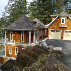 Traditional Exterior Custom Home Built By SFH