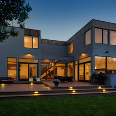 Contemporary Exterior by Rusch Projects
