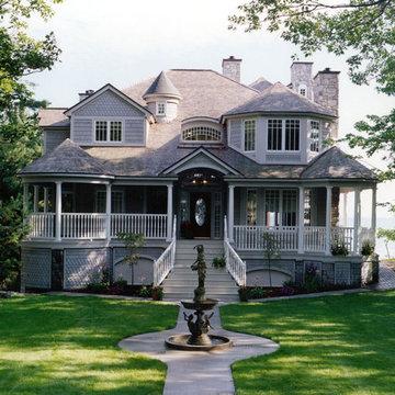 Custom Home Design, Exterior - Front