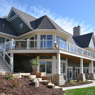 Traditional exterior home idea in Other