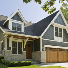 Traditional Exterior by Great Rooms Designers & Builders