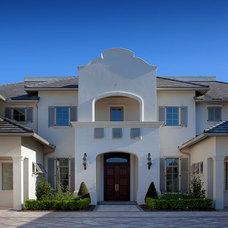Tropical Exterior by Osprey Custom Homes