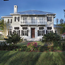 Beach Style Exterior by Albanese Builders