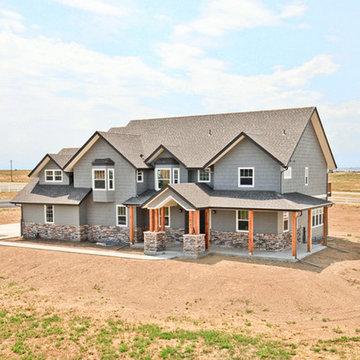 Custom Home in Eagle Shadow