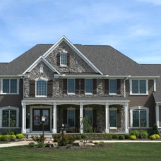 Traditional Exterior by Prestige Homes