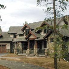 Craftsman Exterior by Peak Construction Company