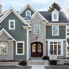 Traditional Exterior by Blank & Baker Construction Management