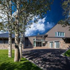 Contemporary Exterior by Jaffa Group Design Build