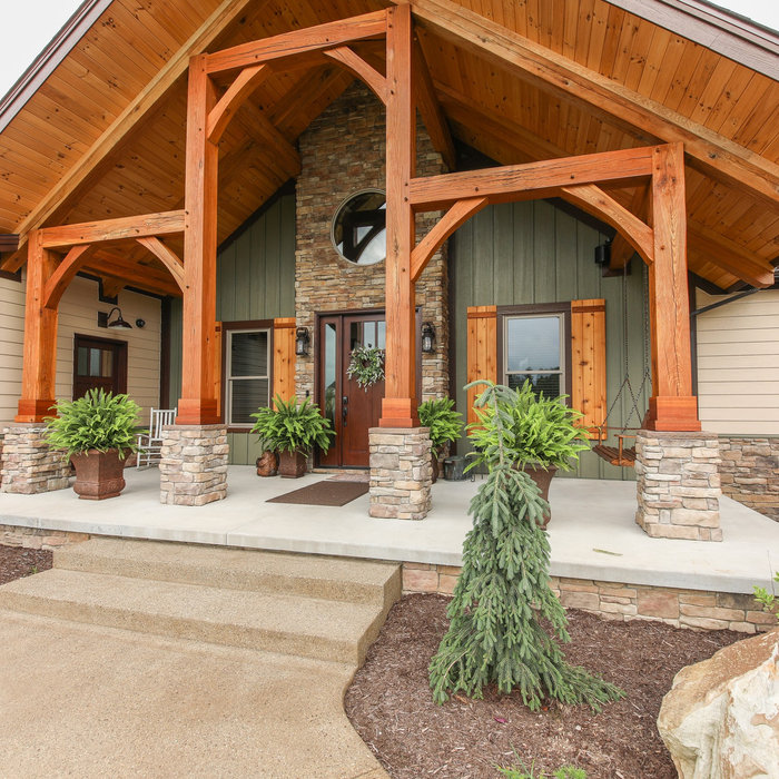 Custom Home: Timber Frame New Construction