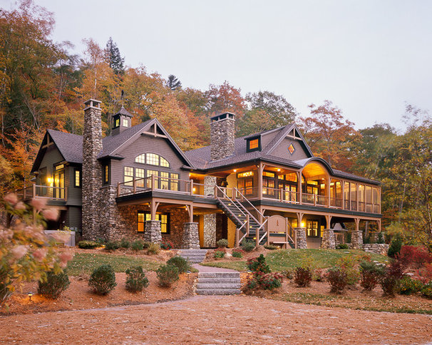 Traditional Exterior by Howell Custom Building Group