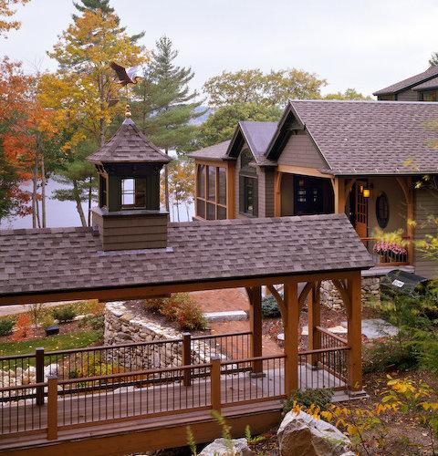 Luxury Home Lake Maine: Southern Maine Adirondack Style Lake House