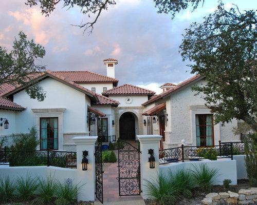 75 Trendy Mediterranean Exterior Home Design Ideas Pictures of