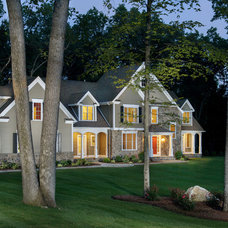 Traditional Exterior by Advantage Contracting