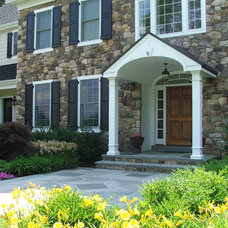 Traditional Exterior by The Webb Building Group