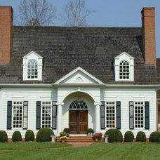 Traditional Exterior by Bryan Residential Planning Company