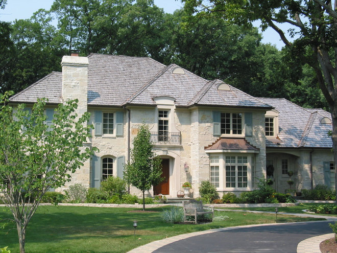 Traditional Exterior by Reynolds Architecture- Northfield, Illinois
