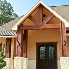 Traditional Exterior by Copper Basin Custom Homes