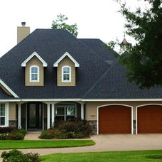 Traditional Exterior by Drafting Design Service, Inc.