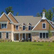 Traditional Exterior by Hellings Builders