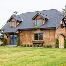 Traditional Exterior by FatBoy Construction