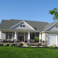 Traditional Exterior by Hoying and Hoying Builders, Inc.