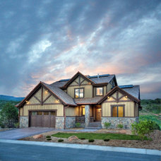 Traditional Exterior by ICO Custom Homes