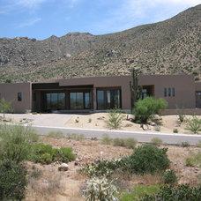 Contemporary Exterior by Sandella Custom Homes, LLC