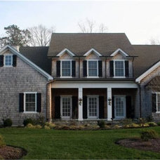 Traditional Exterior by Shoreline Builders
